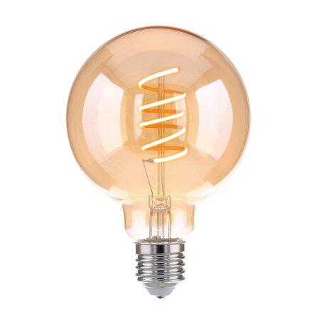 Филаментная светодиодная лампа Elektrostandard Classic FD 8W 3300K E27 (G95 спираль тонированный) E27 8W (дневной)