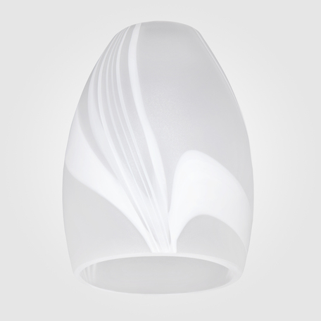 Плафон Eurosvet Virginia плафон 2275, арт. 70310, белый, стекло