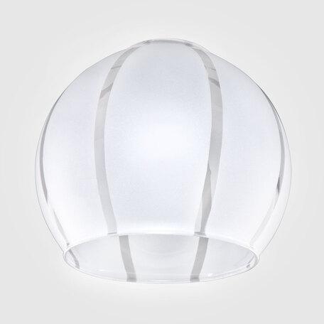 Плафон Eurosvet Virginia плафон 3353 белый, арт. 77000, белый, стекло