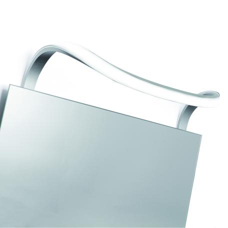 Настенный светильник Mantra Sisley 5087, IP44, матовый хром, белый, металл, пластик