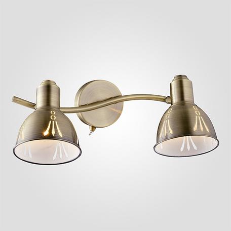 Настенный светильник с регулировкой направления света Eurosvet Azimuth 20052/2 античная бронза, 2xE14x40W, бронза, металл