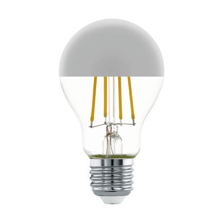 Филаментная светодиодная лампа Eglo 11834 груша E27 7W, 2700K (теплый) CRI>80, гарантия 5 лет