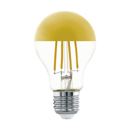 Филаментная светодиодная лампа Eglo 11835 груша E27 7W, 2700K (теплый) CRI>80, гарантия 5 лет