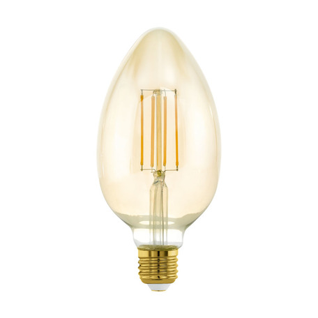 Филаментная светодиодная лампа Eglo 11836 E27 4W, 2200K (теплый) CRI>80, гарантия 5 лет