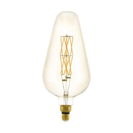 Филаментная светодиодная лампа Eglo 11838 E27 8W, 2100K (теплый) CRI>80, гарантия 5 лет
