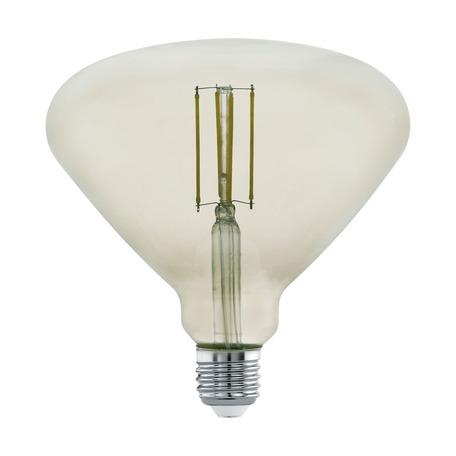 Филаментная светодиодная лампа Eglo 11841 E27 4W, 3000K (теплый) CRI>80, гарантия 5 лет