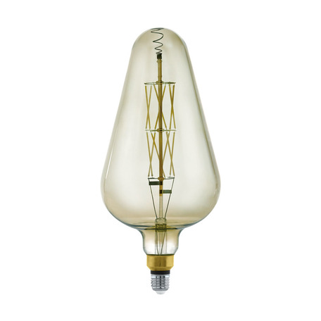 Филаментная светодиодная лампа Eglo 11842 E27 8W, 3000K (теплый) CRI>80, гарантия 5 лет