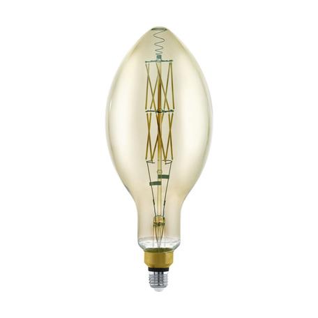Филаментная светодиодная лампа Eglo 11843 Bomb E27 8W, 3000K (теплый) CRI>80, гарантия 5 лет