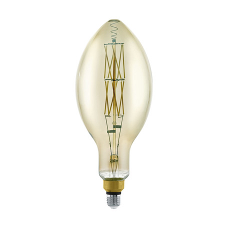 Филаментная светодиодная лампа Eglo 11843 Bomb E27 8W, 3000K (теплый) CRI>80 220V, гарантия 5 лет