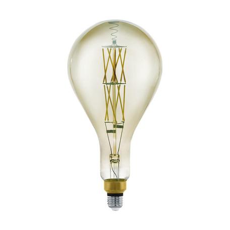 Филаментная светодиодная лампа Eglo 11844 капля E27 8W, 3000K (теплый) CRI>80, гарантия 5 лет