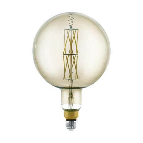 Филаментная светодиодная лампа Eglo 11845 шар E27 8W, 3000K (теплый) CRI>80, гарантия 5 лет