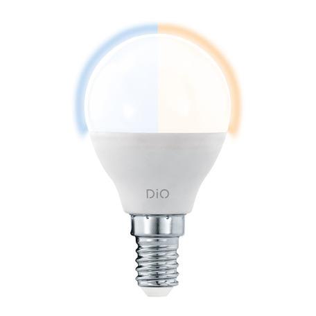Светодиодная лампа Eglo 11805 груша E14 5W, 2765K (теплый) CRI>80 220V, диммируемая, гарантия 5 лет