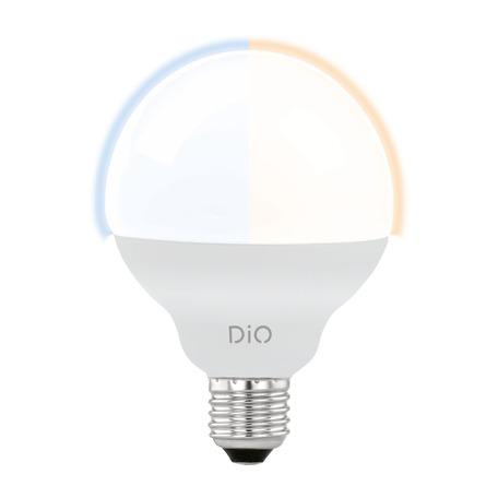 Светодиодная лампа Eglo 11811 шар E27 12W, 2765K (теплый) CRI>80, диммируемая, гарантия 5 лет
