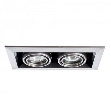 Arte Lamp Cardani  Piccolo A5941PL-2SI, 2xGU10x50W, серебро