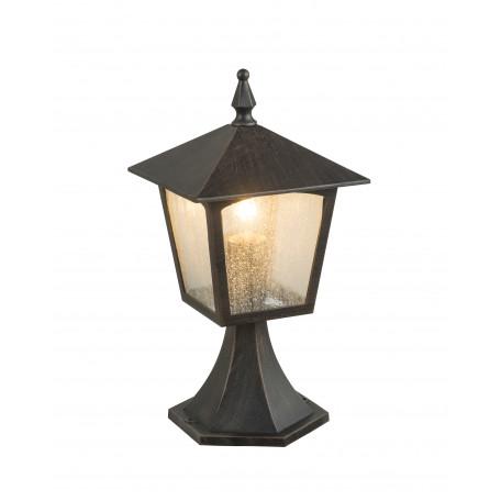 Садово-парковый светильник Globo Piero 31557, IP44, 1xE27x60W, металл, металл со стеклом