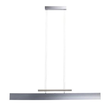 Подвесной светодиодный светильник De Markt Ральф 6 675013703, LED 42W 4000K 3360lm, алюминий, металл