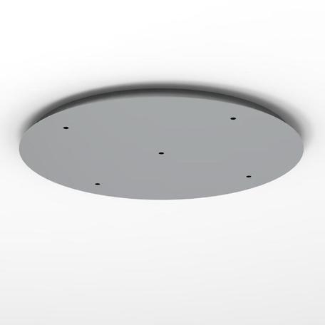 База для подвесного монтажа светильника Mantra Jarras 6500, хром, металл