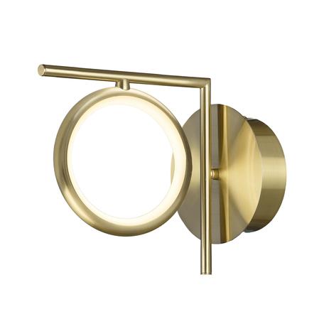 Бра Mantra Olimpia 6585, матовое золото, белый, металл, пластик