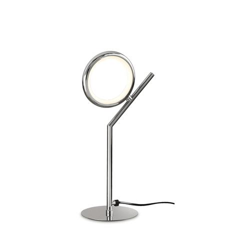 Настольная лампа Mantra Olimpia 6596, хром, белый, металл, пластик