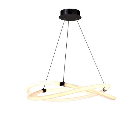 Подвесной светильник Mantra Line 6607, хром, белый, металл, пластик