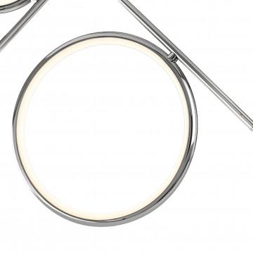 Потолочная люстра Mantra Olimpia 6591, хром, белый, металл, пластик - миниатюра 2