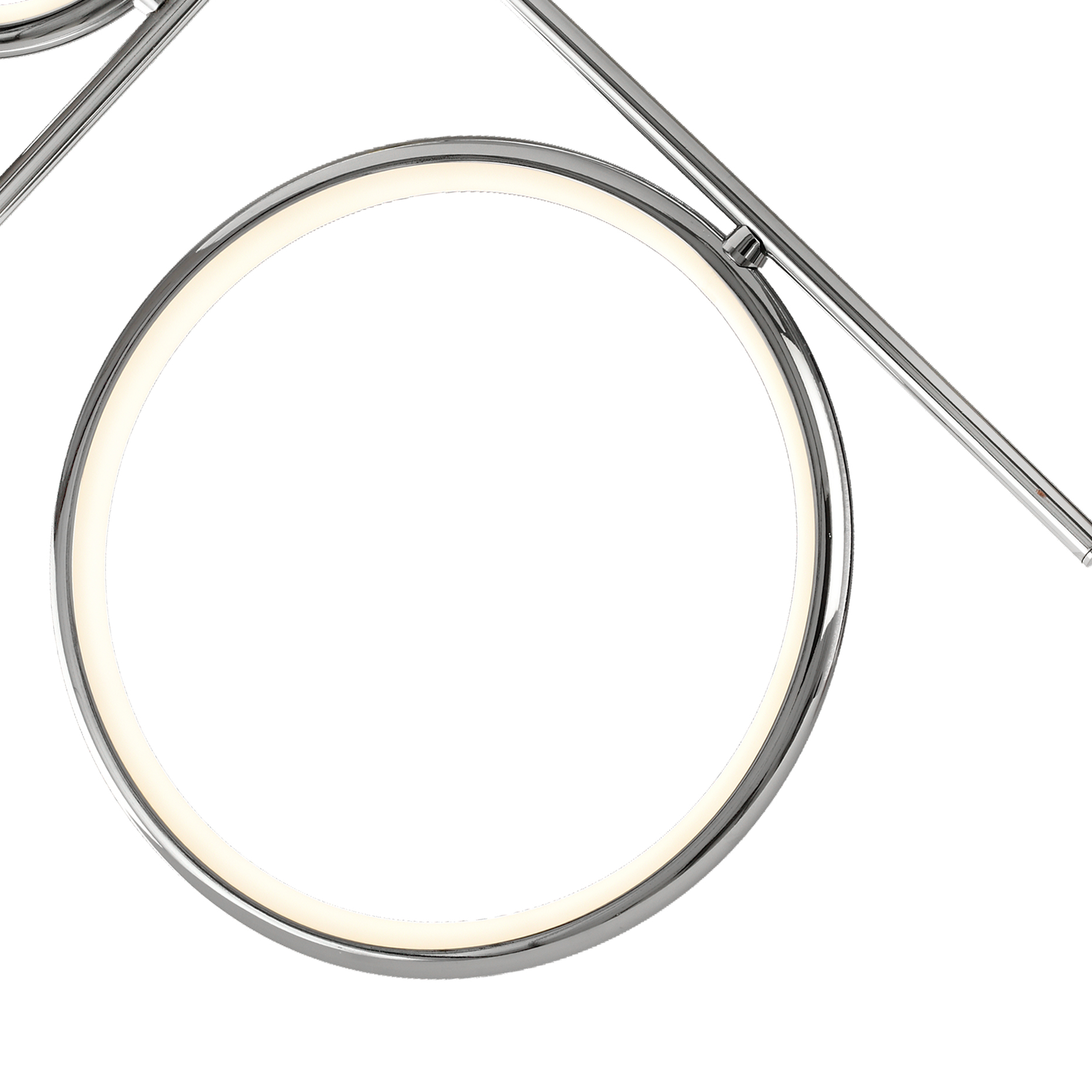 Потолочная люстра Mantra Olimpia 6591, хром, белый, металл, пластик - фото 2