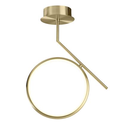 Потолочный светильник Mantra Olimpia 6584, матовое золото, белый, металл, пластик