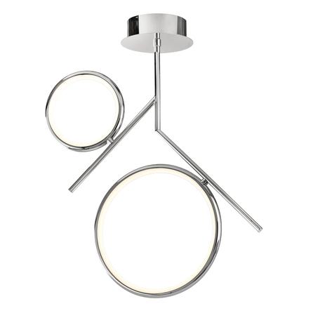 Потолочный светильник Mantra Olimpia 6592, хром, белый с хромом, металл, пластик