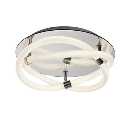 Потолочный светильник Mantra Line 6609, хром, белый, металл, пластик