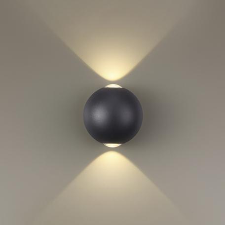 Настенный светодиодный светильник Odeon Light Palla 3904/6WB, IP65 3500K (дневной)