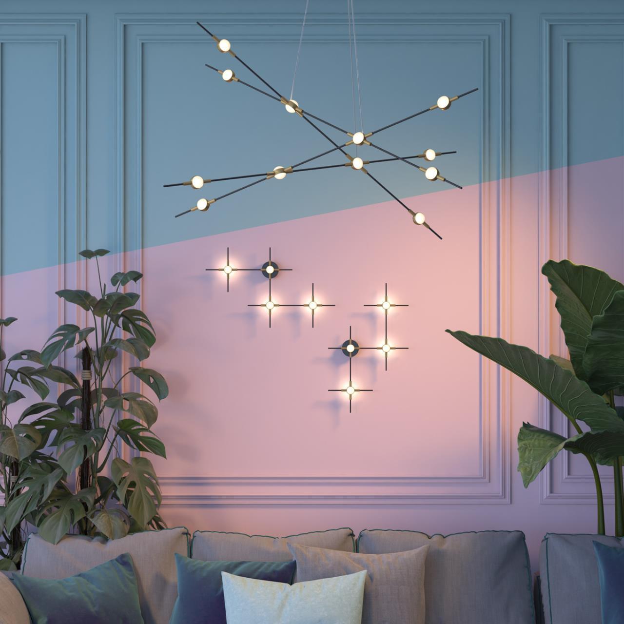 Настенный светодиодный светильник Odeon Light Costella 3906/14WL 4000K (дневной) - фото 5