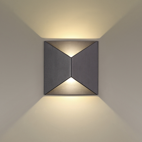 Настенный светодиодный светильник Odeon Light Tibro 3907/10WL, IP65 3500K (дневной)