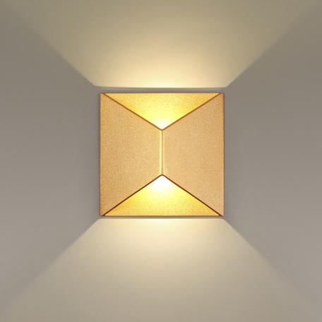 Настенный светодиодный светильник Odeon Light Tibro 3908/10WL, IP65 3500K (дневной)