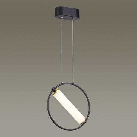 Подвесной светодиодный светильник Odeon Light Bebetta 3905/6L, LED 6W 4000K 480lm, черный, металл, металл с пластиком