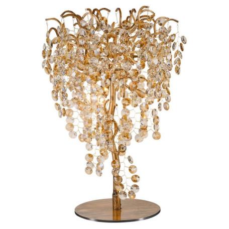 Настольная лампа L'Arte Luce Luxury Treasure L29031, 3xG9x3,5W, металл, хрусталь