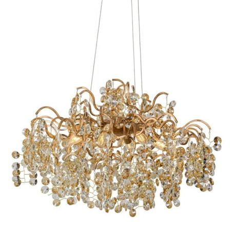 Подвесная люстра L'Arte Luce Luxury Treasure L29008, 8xE14x4W, металл, хрусталь