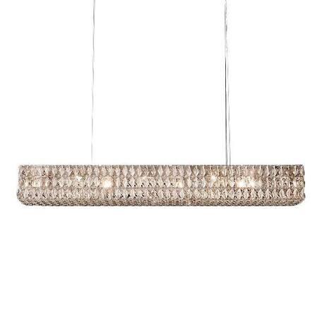 Подвесной светильник L'Arte Luce Luxury Spiridon L27710, 10xE14x40W, металл, хрусталь