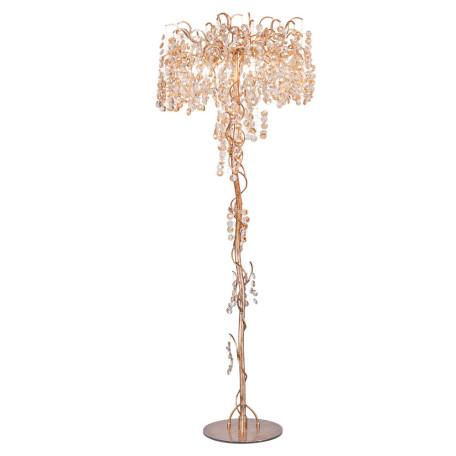 Торшер L'Arte Luce Luxury Treasure L29041, 5xG9x3,5W, металл, хрусталь