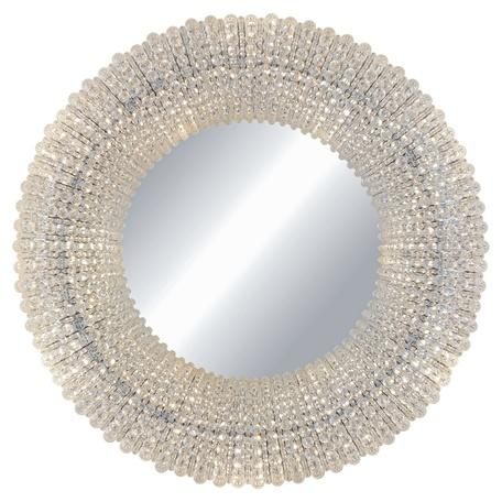 Зеркало с подсветкой L'Arte Luce Luxury Crystal Halo L27826, 21xG4x25W, стекло, хрусталь