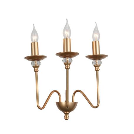 Бра ST Luce Novento SL186.201.03, 3xE14x40W, матовое золото, металл со стеклом