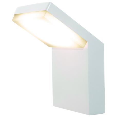 Настенный светодиодный светильник Mantra Alpine 7046, IP65, LED 6W 3000K 510lm CRI80, белый, металл, металл с пластиком