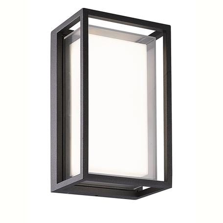 Настенный светодиодный светильник Mantra Chamonix 7062, IP65, LED 9W 3000K 725lm CRI80, серый, металл с пластиком