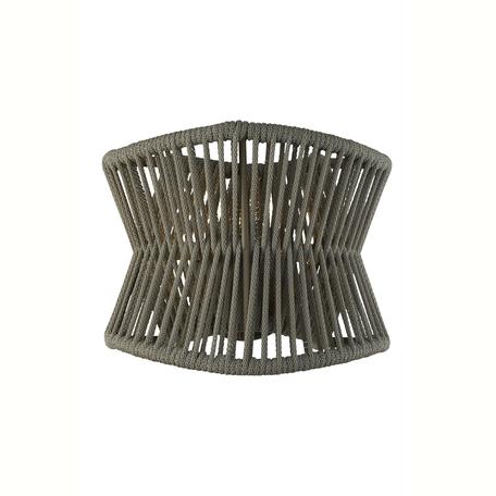 Настенный светильник Mantra Polinesia 7133, IP44, 1xE27x20W, коричневый, металл, текстиль