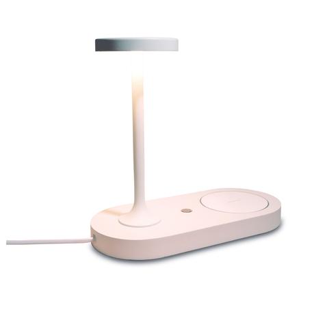 Настольная светодиодная лампа Mantra Ceres 7290, LED 6W 3000K 450lm CRI80, белый, металл