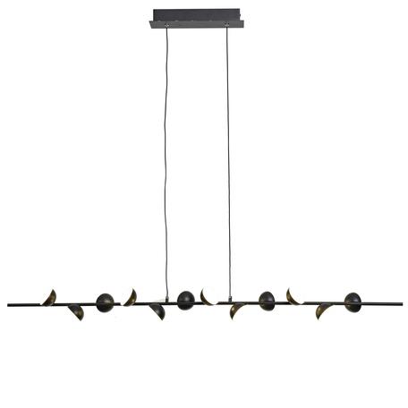 Подвесной светодиодный светильник Mantra ADN 6418, LED 36W 3000K 1650lm CRI80, черный, металл