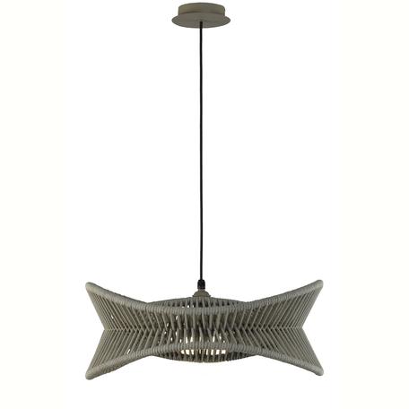 Подвесной светильник Mantra Polinesia 7130, IP44, 1xE27x20W, коричневый, металл, текстиль