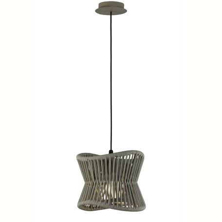 Подвесной светильник Mantra Polinesia 7131, IP44, 1xE27x20W, коричневый, металл, текстиль