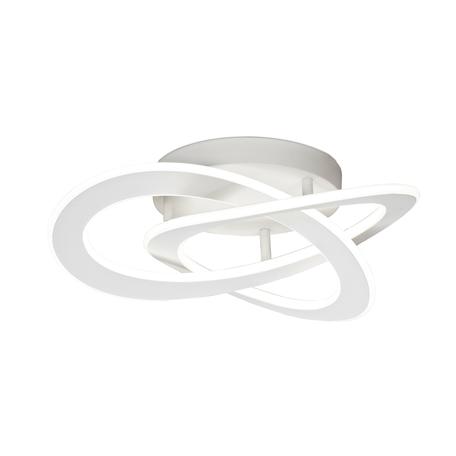 Потолочный светодиодный светильник Mantra Planet 7152, LED 40W 3000K 1800lm CRI80, белый, металл, металл с пластиком