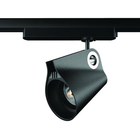Светодиодный светильник с регулировкой направления света для шинной системы Mantra Ipsilon 7317, LED 35W 3000K 3500lm CRI90, черный, металл