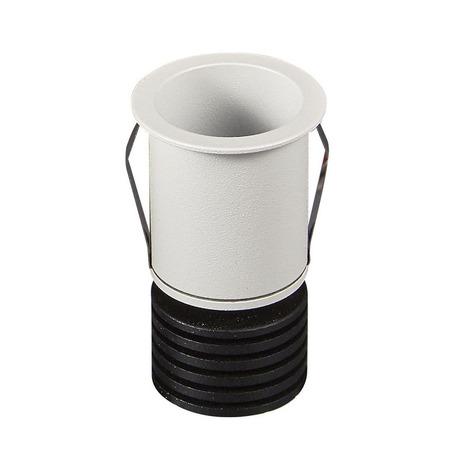 Встраиваемый светодиодный светильник Mantra Guincho 7080, IP54, LED 3W 2700K 210lm CRI80, белый, металл